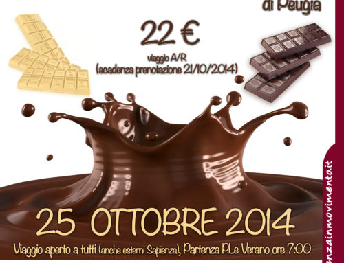 EUROCHOCOLATE 2014: Sapienza In Movimento torna a Perugia!!!
